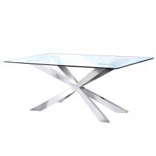 31-060 SILVER MERLIN DINING TABLE