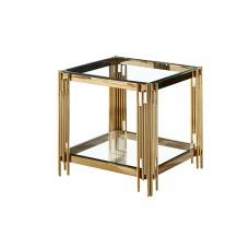 34-078 GOLD VEGAS SIDE TABLE