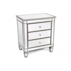 40-036 LASER SIDE TABLE WITH MIRROR BODY