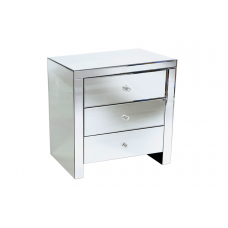 40-057 PLUTO ALL MIRROR BODY SIDE TABLE