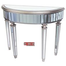 40-122 HALFMOON MIRROR BODY CONSOLE TABLE
