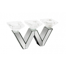 Y-158 MIRROR BODY CANDLE HOLDER