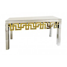 40-298 GOLD TIFFANY CONSOLE TABLE
