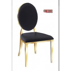 53-154-G GOLD  DINING CHAIR