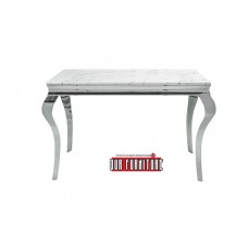 53-170  TUSK FAUX MARBLE TOP CONSOLE TABLE