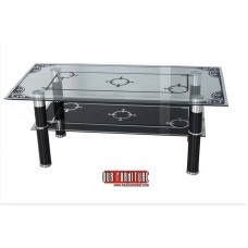 IF-2042 TEMPERED GLASS COFFEE TABLE