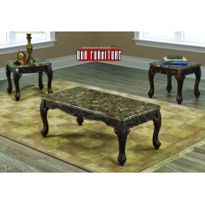 IF-2071- 3 PC. COFFEE TABLE SET