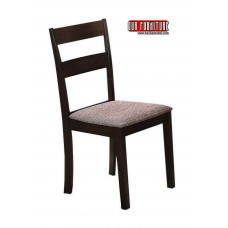 C-1033 BROWN FABRIC DINING CHAIR