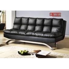 IF-368-BK  BLACK SOFA BED