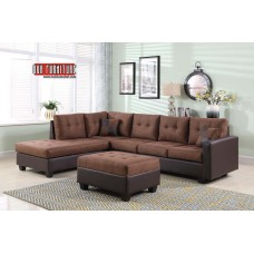 IF-9425 REVERSIBLE LEFT OR RIGHT CHAISE SECTIONAL SOFA
