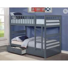 B-110-G TWIN/TWIN BUNK BED