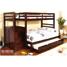 B-119 TWIN/FULL SIZE BUNK BED
