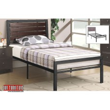 IF-114 BLACK METAL FRAME SINGLE,DOUBLE,QUEEN BED
