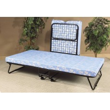 """IF-380 FOLDING BED  WITH 3"""" THICK FOAM MATTRESS."""