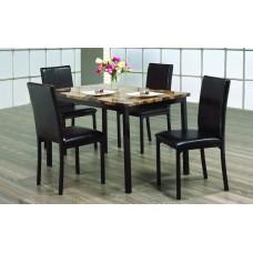 IF-1520 5 PCS. DINING TABLE SET