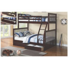 B-122-E TWIN/FULL SIZE BUNK BED (INT)