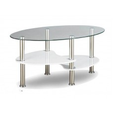 COBRA WHITE  COFFEE TABLE