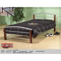 IF-127 (SINGLE,DOUBLE,QUEEN) BED