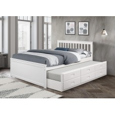 IF-301 W CAPTAIN BED DOUBLE SIZE