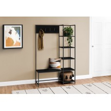 "I 4510 BENCH - 72""H / BLACK / BLACK METAL HALL ENTRY"