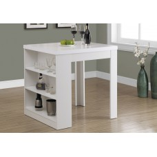 """I 1345 DINING TABLE - 32""""X 36"""" / WHITE COUNTER HEIGHT"""