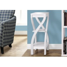 """I 2479 ACCENT TABLE - 32""""H / WHITE"""