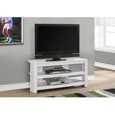 """I 2567 TV STAND - 42""""L / WHITE CORNER"""
