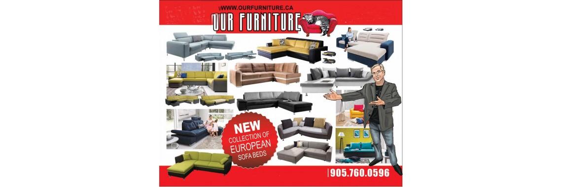 european sofa-bed