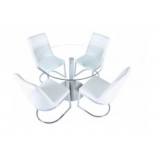 """CYCLONE ROUND DINING TABLE 42"""" (CRE)"""