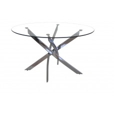 """GENESIS ROUND DINING TABLE 51 """" (CRE)"""