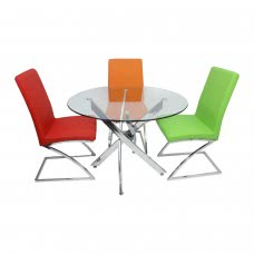 """GENESIS ROUND DINING TABLE 39"""" (CRE)"""