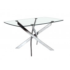 "GENESIS RECTANGULAR DINING TABLE 54"" (CRE)"