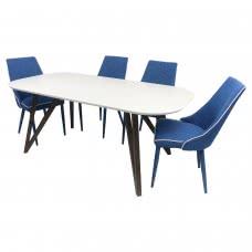 LEONARDO DINING TABLE (CRE)