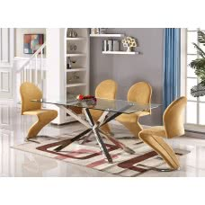 LORENZO DINING TABLE (CRE)
