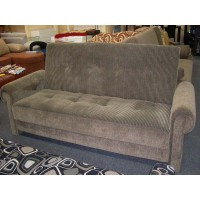 CANADIAN SOFA DELUX DAVENPORT SOFA-BED  WITH ROLL ARMS.