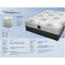 ORTHOPEDIC DELUX  MATTRESS ALL  SIZES