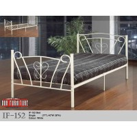IF-152 (SINGLE,DOUBLE SIZE) BED