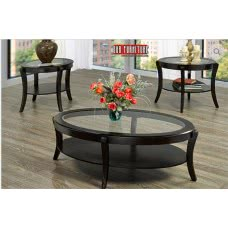 IF-2060  3 PC. COFFEE TABLE SET