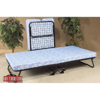 """IF-381 FOLDING BED WITH 3"""" THICK FOAM MATTRESS"""
