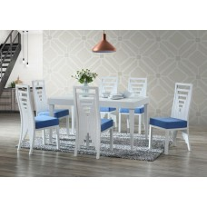 ES-1290-0 SET TABLE + 6 CHAIRS