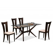 ES-680-0 TABLE+4 CHAIRS