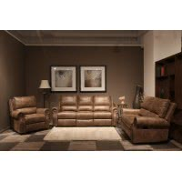 7665-RECLINING SOFA SET