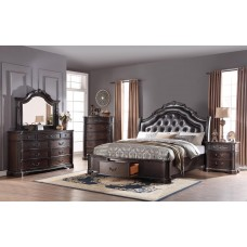 ES-911-0 QUEEN, KING SIZE BEDROOM SET (CALL FOR PRICE)