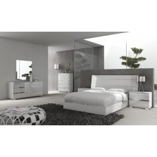 ES-DREAM BEDROOM SET (QUEEN, KING) SIZE WHITE (CALL FOR PRICE)