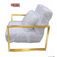 34-043 CELIA FUR ACCENT CHAIR