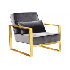 34-044 CELIA GOLD ACCENT CHAIR