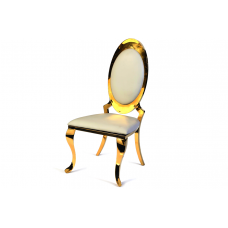 53-002 GOLD JANET DINING CHAIR