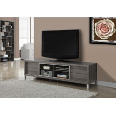 "I 2536 TV STAND - 70""L / DARK TAUPE EURO STYLE"