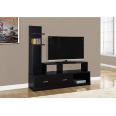 "I 2695 TV STAND - 60""L / ESPRESSO WITH A DISPLAY TOWER"