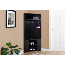 "I 2770 HALL TREE - 67""H / CAPPUCCINO CORNER UNIT"